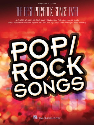 Best Pop/Rock Songs Ever - Hal Leonard Piano, Vocal & Guitar - Adlib Music