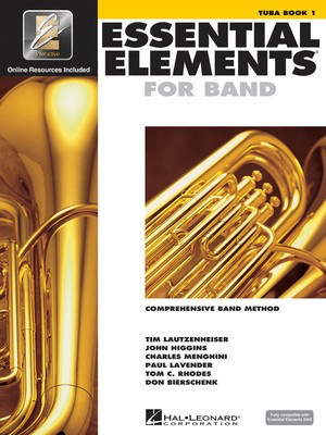 Essential Elements for Band - Book 1 with EEi - Tuba in C (B.C.) - Tuba Charles Menghini|Donald Bierschenk|John Higgins|Paul Lavender|Tim Lautzenheiser|Tom C. Rhodes Hal Leonard /CD-ROM - Adlib Music