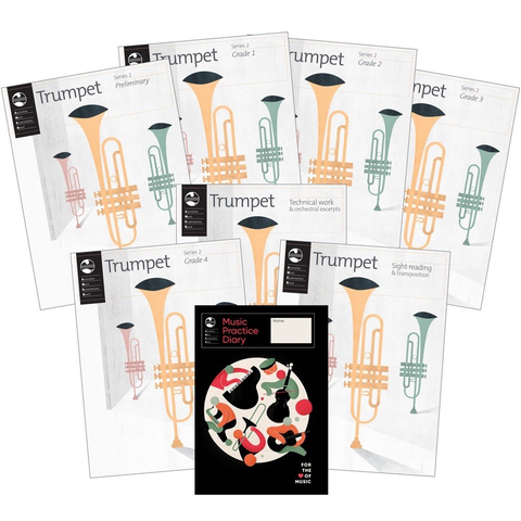 AMEB Series 2 Teacher Pack - Trumpet AMEB 1203064939