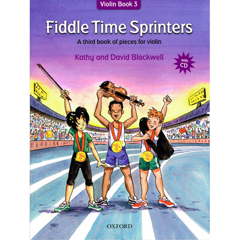 Fiddle Time Sprinters - Violin/CD by Blackwell NEW EDITION Oxford 9780193386792