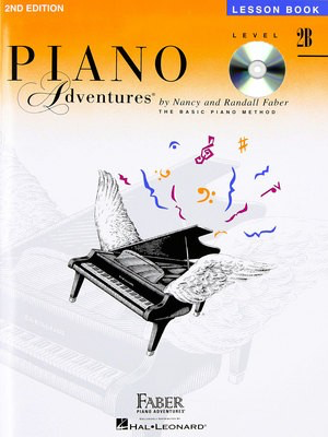 Piano Adventures Level 2B- Lesson Book - Book/CD 2nd Edition - Nancy Faber|Randall Faber - Piano Faber Piano Adventures /CD - Adlib Music