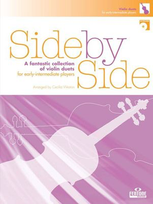 Side by Side - Violin - A fantastic collection of violin duets - Violin Cecilia Weston Fentone Music Violin Duet /CD