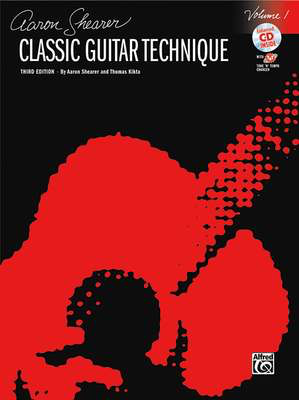 Classic Guitar Technique, Volume 1 - (Revised) - Aaron Shearer|Thomas Kikta - Classical Guitar Alfred Music /CD - Adlib Music