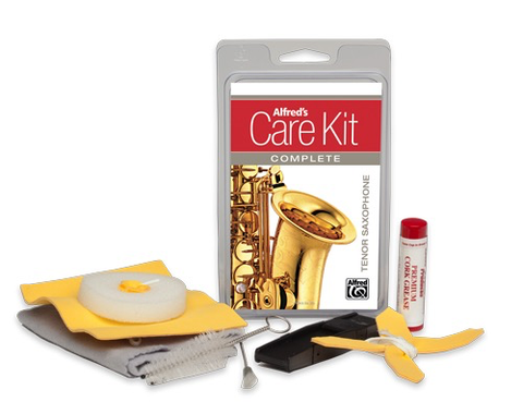 Care Kit Complete Tenor Saxophone - Alfred Music