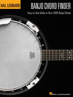 Banjo Chord Finder - Easy-to-Use Guide to Over 2,800 Banjo Chords - Banjo Various Authors Hal Leonard