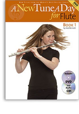 A New Tune A Day for Flute - Book 1 - (CD/DVD Edition) - Flute Ned Bennett Boston Music /CD/DVD - Adlib Music