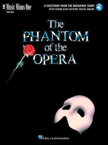 The Phantom of The Opera - Music Minus One - Vocals Book/Online Audio - Vocal - Music Minus One