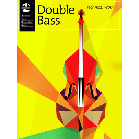 AMEB Technical Workbook - Double Bass 2013 1203054839