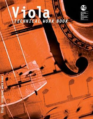 Viola Technical Work Book - 2007 edition - Viola AMEB Viola Solo - Adlib Music