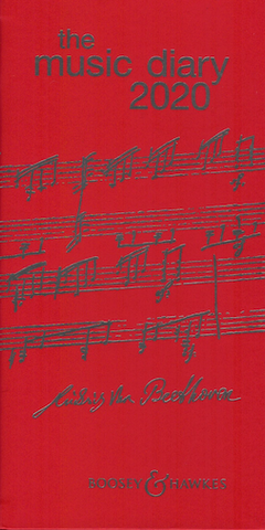 Boosey & Hawkes Music Diary 2020 - Red - Boosey & Hawkes