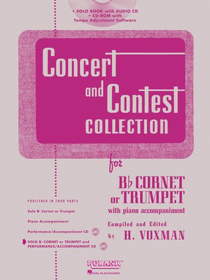 Concert and Contest Collection for Trumpet - Trumpet Himie Voxman Rubank Publications /CD