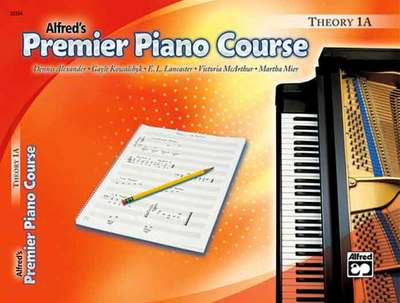 Premier Piano Course, Theory 1A - Universal Edition - Dennis Alexander|E. L. Lancaster|Gayle Kowachykl|Martha Mier|Victoria McArthur - Piano Alfred Music - Adlib Music