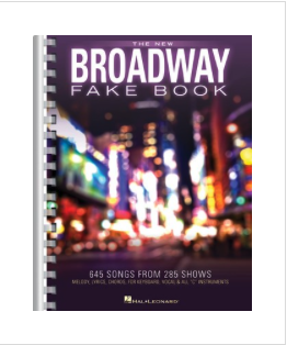The New Broadway Fake Book - 645 Songs from 285 Shows - C Instruments - Hal Leonard