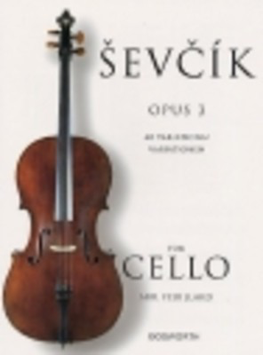 40 Variations Op. 3 for Cello - Otakar Sevcik - Cello Bosworth - Adlib Music