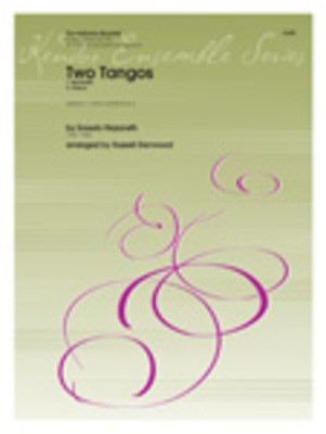 Two Tangos - Soprano, Alto, Tenor and Baritone Saxes - Nazareth/Denwood - Saxophone Kendor Music Saxophone Quartet Score/Parts