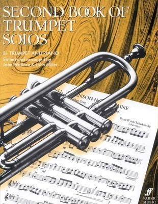 Second Book of Trumpet Solos - for Trumpet and Piano - John Miller|John Wallace - Trumpet Faber Music - Adlib Music