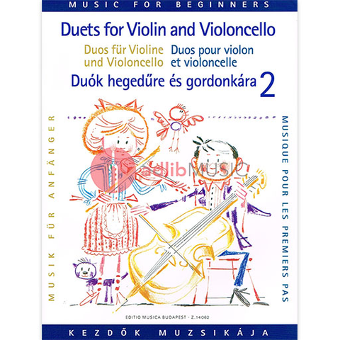DUETS FOR BEGINNERS VOL 2 VIOLIN & CELLO - EMB