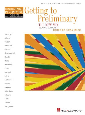Getting To Preliminary - The New Mix - Hal Leonard Student Piano Library - Piano Hal Leonard - Adlib Music