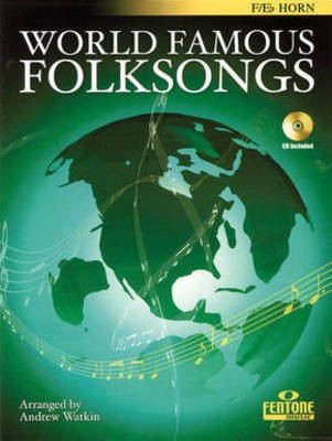 World Famous Folksongs - French Horn|Eb Tenor Horn Andrew Watkin Fentone Music French Horn Solo /CD