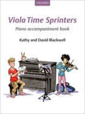 Viola Time Sprinters Piano Accompaniment Book - David Blackwell|Kathy Blackwell - Oxford University Press Piano Accompaniment - Adlib Music