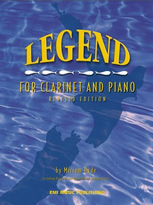 Legend for Clarinet and Piano - Including Original and Simplified Accompaniment - Miriam Hyde - Clarinet EMI Music Publishing - Adlib Music