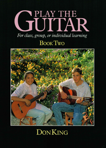 Play The Guitar Book 2 - Don King - Waiata Music