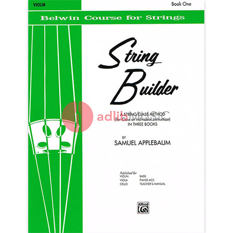 String Builder, Book 1 - Violin - Samuel Applebaum - Belwin