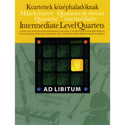 Ad Libitum Intermediate Level Quartets - String Quartet EMB Z14850