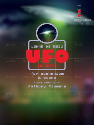 UFO Concerto - Piano Reduction - Johan de Meij - Euphonium Amstel Music Piano Accompaniment Part
