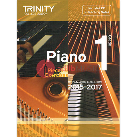 Trinity Piano Exam Pieces 2015-17 Grade 1 Bk/Cd - Trinity
