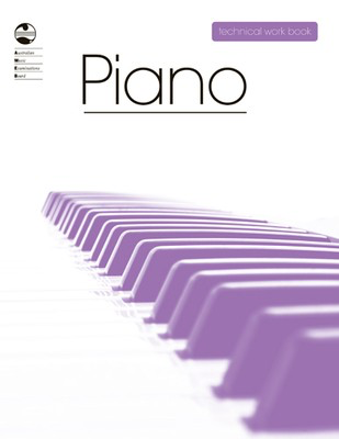 Piano Technical Work Book - 2008 edition - Piano AMEB Piano Solo Spiral Bound - Adlib Music