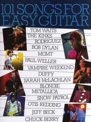 101 Songs For Easy Guitar: Book 8 - Guitar Wise Publications Easy Guitar with Lyrics & Chords - Adlib Music