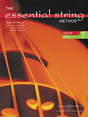 The Essential String Method - Violin Book 1 - Sheila Mary Nelson - Violin Boosey & Hawkes