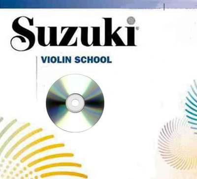 Suzuki Violin School CD, Volume 1 (Revised) - Violin Summy Birchard CD