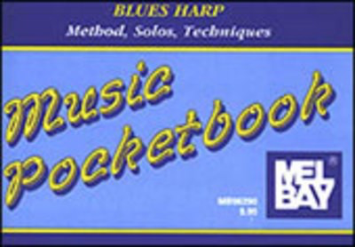 Blues Harp Pocketbook - Harmonica Mel Bay