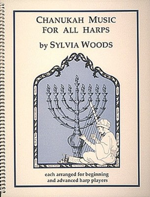 Chanukah Music for All Harps - Harp Sylvia Woods Hal Leonard