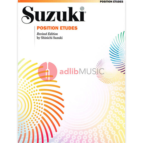 Position Etudes for Violin - Dr. Shinichi Suzuki