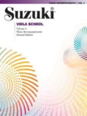 Suzuki Viola School Piano Acc., Volume 3 (Revised) - Viola Summy Birchard Piano Accompaniment