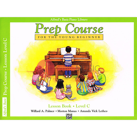 Alfred's Basic Piano Prep Course Lesson Level C - Palmer Willard A. / Manus Morton / Lethco Amanda Vick - Alfred Music