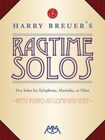 Harry Breuer's Ragtime Solos - Five Solos for Xylophone, Marimba or Vibes - Marimba|Vibraphone|Xylophone Meredith Music /CD