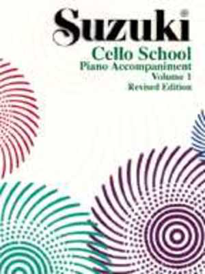 Suzuki Cello School Piano Acc., Volume 1 (Revised) - Cello Summy Birchard Piano Accompaniment - Adlib Music