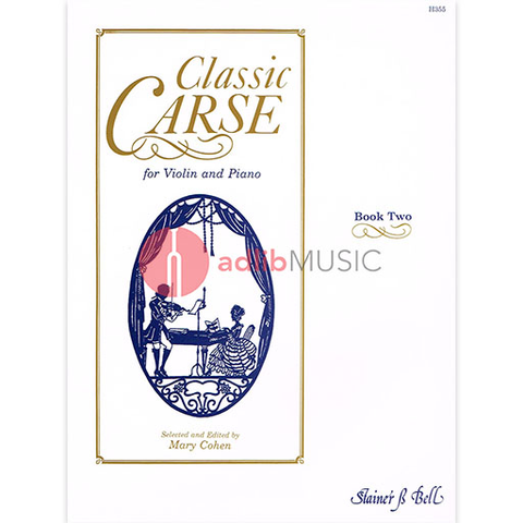 Classic Carse Book 2 - Violin and Piano - Adam Carse - Stainer & Bell