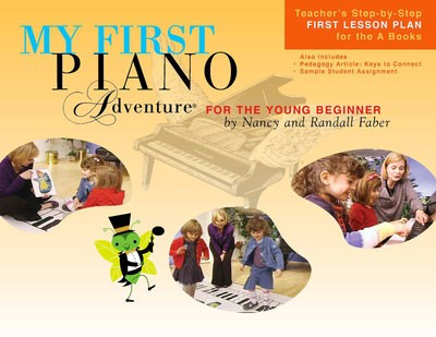 My First Piano Adventure - Lesson Book A with CD - Nancy Faber|Randall Faber - Piano Faber Piano Adventures /CD - Adlib Music
