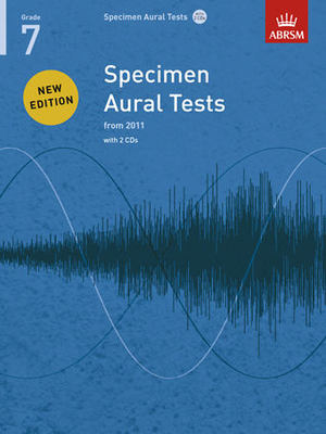 Specimen Aural Tests, Grade 7 with 2 CDs - new edition from 2011 - ABRSM - ABRSM /CD - Adlib Music