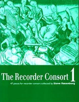 The Recorder Consort Vol. 1 - 47 Pieces for Recorder Consort - Recorder Steve Rosenberg Boosey & Hawkes Recorder Ensemble Score/Parts