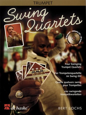 Swing Quartets - Four Swinging Trumpet Quartets - Bert Lochs - Trumpet De Haske Publications /CD