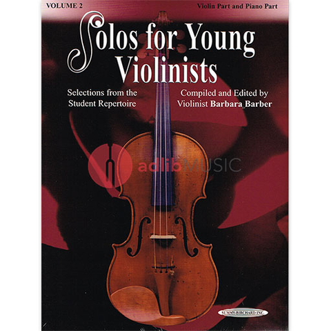 Solos for Young Violinists Volume 2 - Barber Barbara - Summy Birchard
