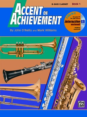 Accent on Achievement, Book 1 - Bb Clarinet - John O'Reilly|Mark Williams - Clarinet Alfred Music /CD - Adlib Music