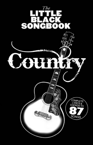 Little Black Songbook of Country - Guitar - Wise