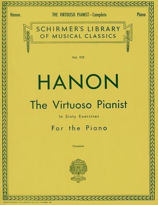 Hanon - Virtuoso Pianist in 60 Exercises - Complete - Schirmer's Library of Musical Classics - Charles-Louis Hanon - Piano G. Schirmer, Inc.